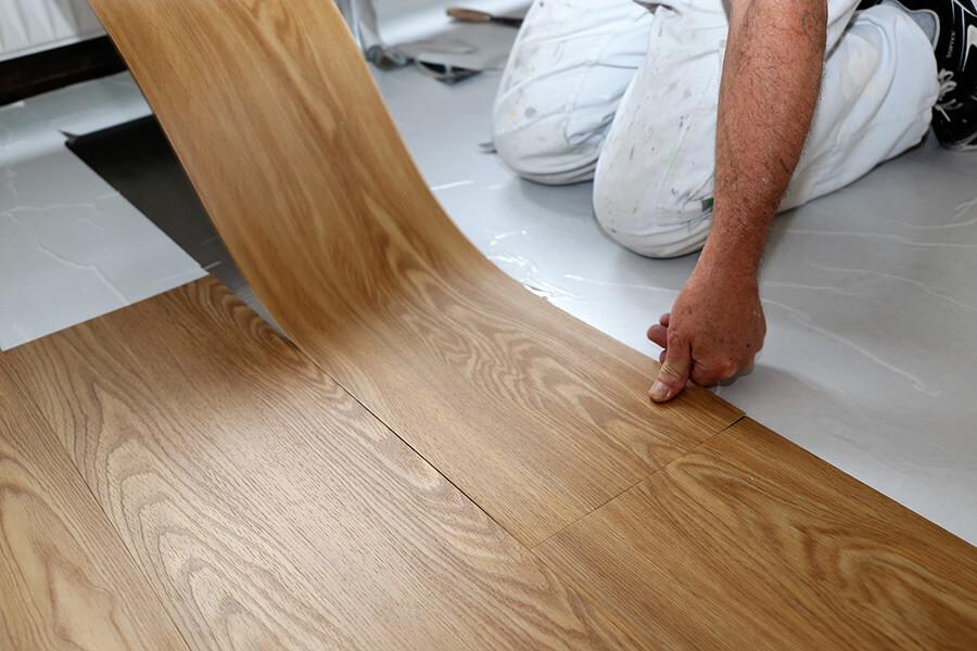 Fußbodenarbeiten – Sie werden drauf stehen