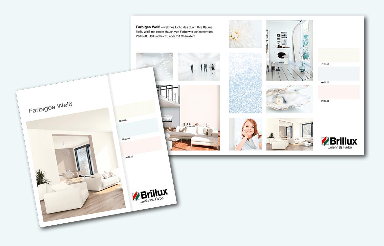 Brillux –  Farbiges Weiß