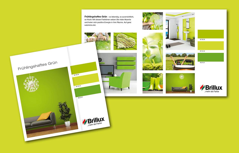 Brillux – Frühlingshaftes Grün