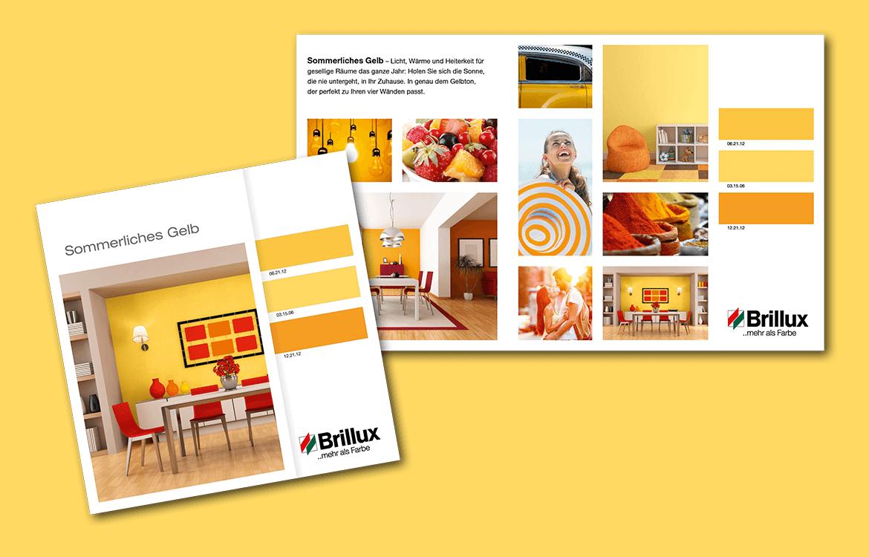 Brillux – Sommerliches gelb