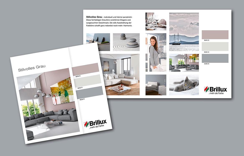 Brillux – Stillvolles Grau